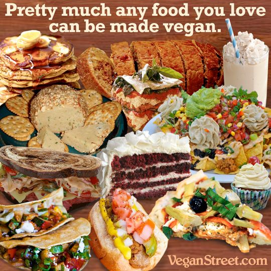 So very true. Ppl are just dumb and choose to remain in the dark. - Pretty much any food you love can be made vegan.