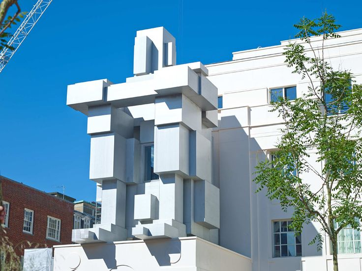 antony gormley stacks inhabitable sculpture suite at beaumont hotel in london
