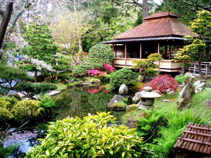 Japanese Tea Garden in San Francisco's Golden Gate Park