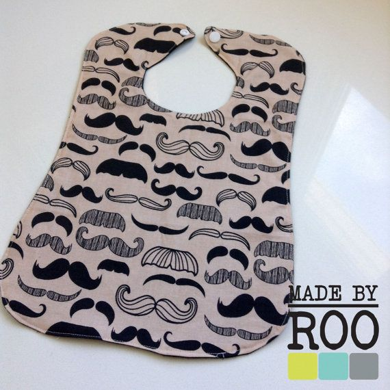 Roo Kids Large Infant Bib by ReneeBou on Etsy