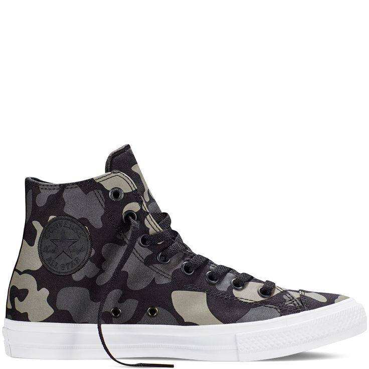 Chuck Taylor All Star II Reflective Camo  Charcoal charcoal
