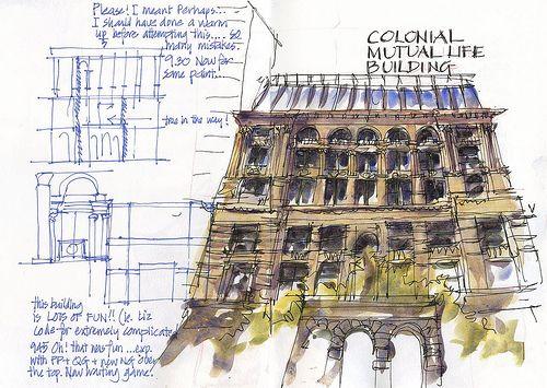 Arkitektur arkitektur sketch : 17 bästa bilder om Rendering Techniques på Pinterest | Arkitektur ...