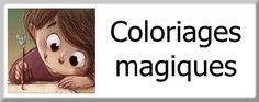 Coloriage magique sur les lettres