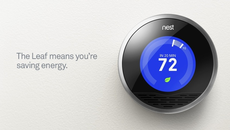 Nest   The Learning Thermostat   Nest inside & out: Ideas, Dream, Apple, Ai Thermostat, Learning Thermostat, Connected Thermostat