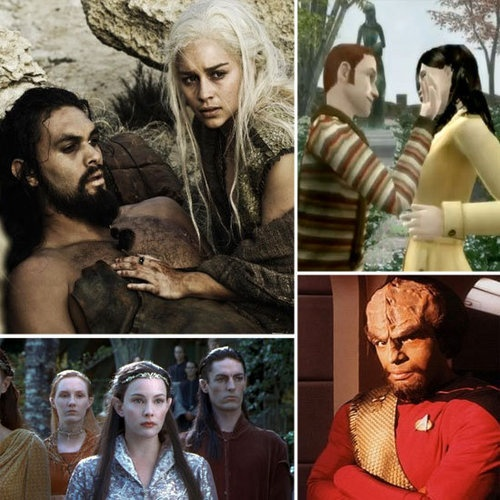 Arrange a date to learn one of these geeky languages together. Perhaps Klingon, Na'Vi or Elvish?