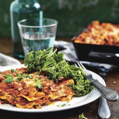 Bild på Vegan-lasagne