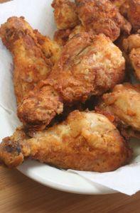 Juanita Dean's Southern Fried Chicken   Via http://blog.jamesbeard.org         Recipe: http://www.jamesbeard.org/index.php?q=recipes/show/juanita_deans_southern_fried_chicken