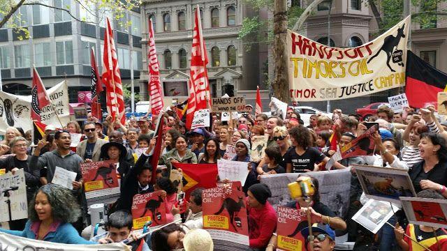 TIMOR AGORA: Ativistas australianos saúdam decisão de negociar ...