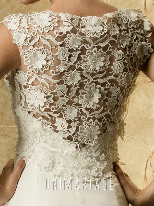Grace -Refined Lace Top Overlayed Mermaid Bridal Wedding Dress [TBQW107]…