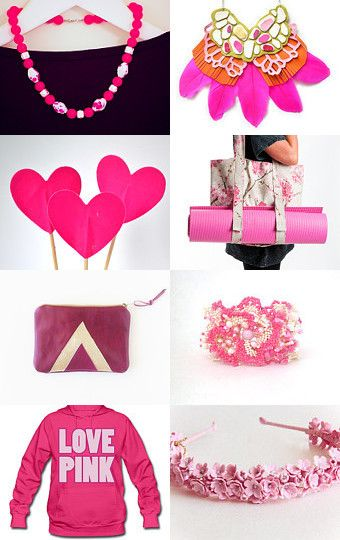 Pink Holidays by Mandarina on Etsy--Pinned with TreasuryPin.com