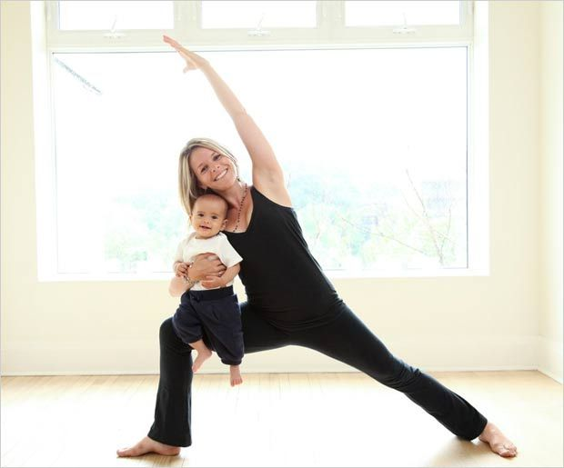 Postnatal yoga or yoga designed for women who have just given birth, is becoming widely popular these days. Here are few asanas that are useful for mothers.