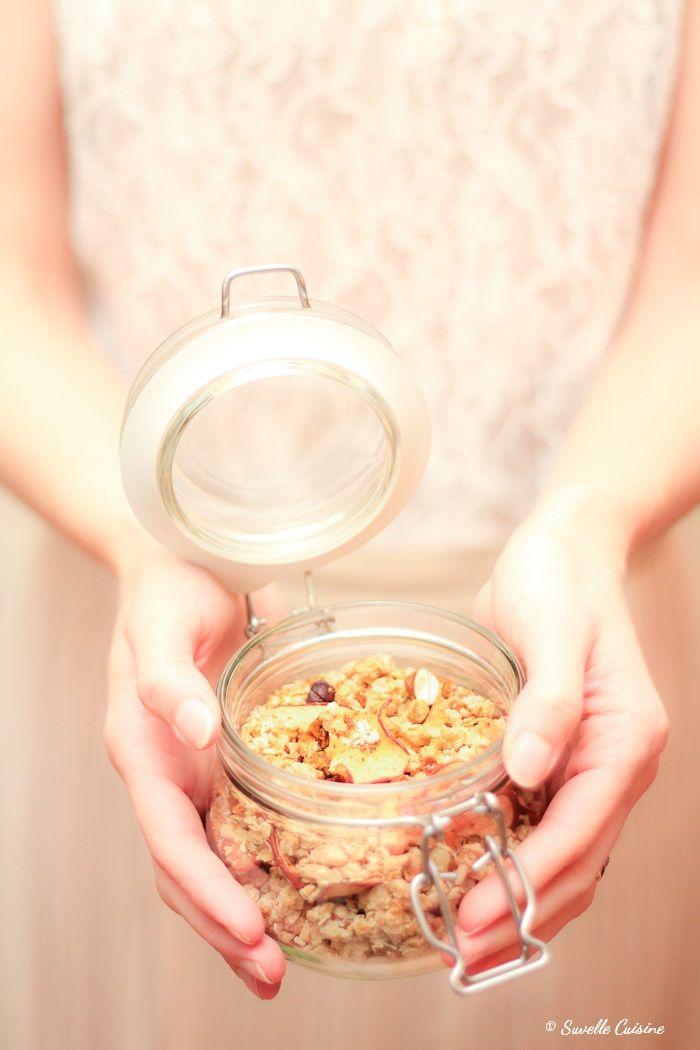Caramel Apple Granola * Granola de Caramelo e Maçã