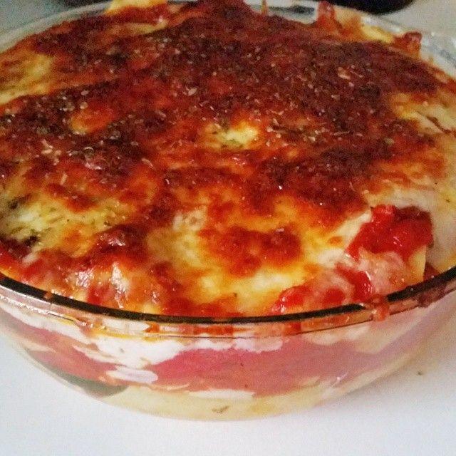 Miss Pixie's Blog: Dagen zonder vlees: lasagne met gegrilde groenten en boursin