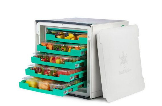 No more Grocery Store? Fresh Food via 'Vessel' a new Innovation in Food Technology