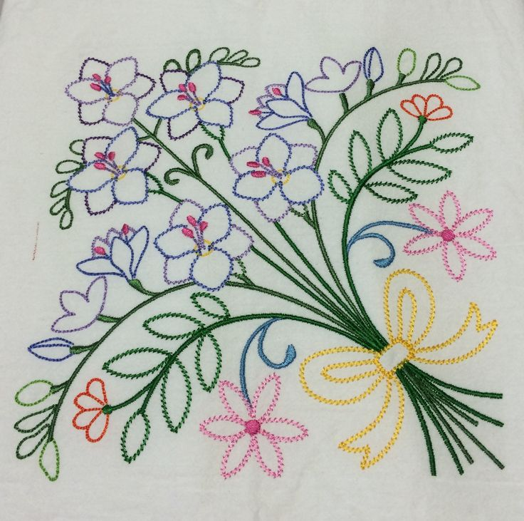 1000+ Images About Embroidery Florals On Pinterest | Embroidery Library Hand Embroidery ...