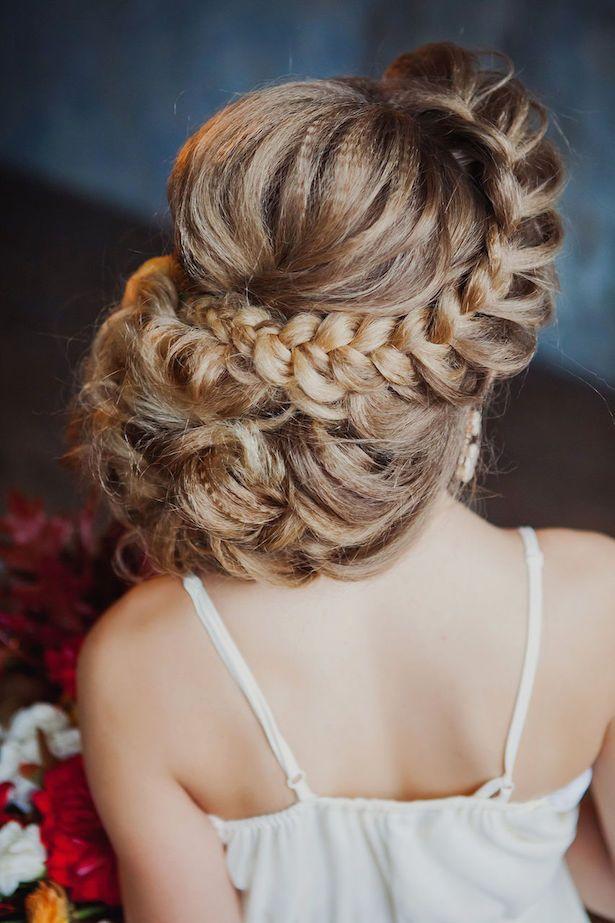 Wedding Hair Idea                                                                                                                                                                                 Más