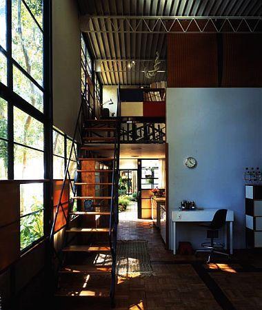 Eames House Interior.