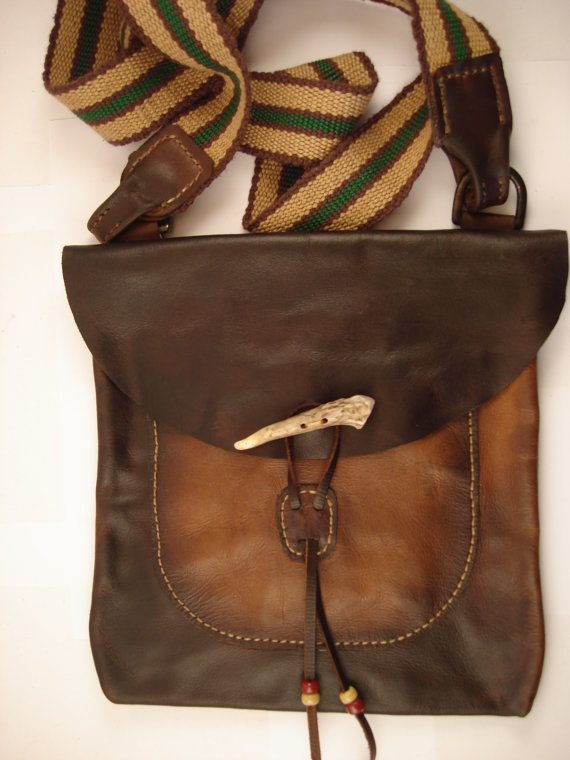 Hunting Pouch  Possibles Bag for Rendezvous by Walkinghorsegal, $175.00