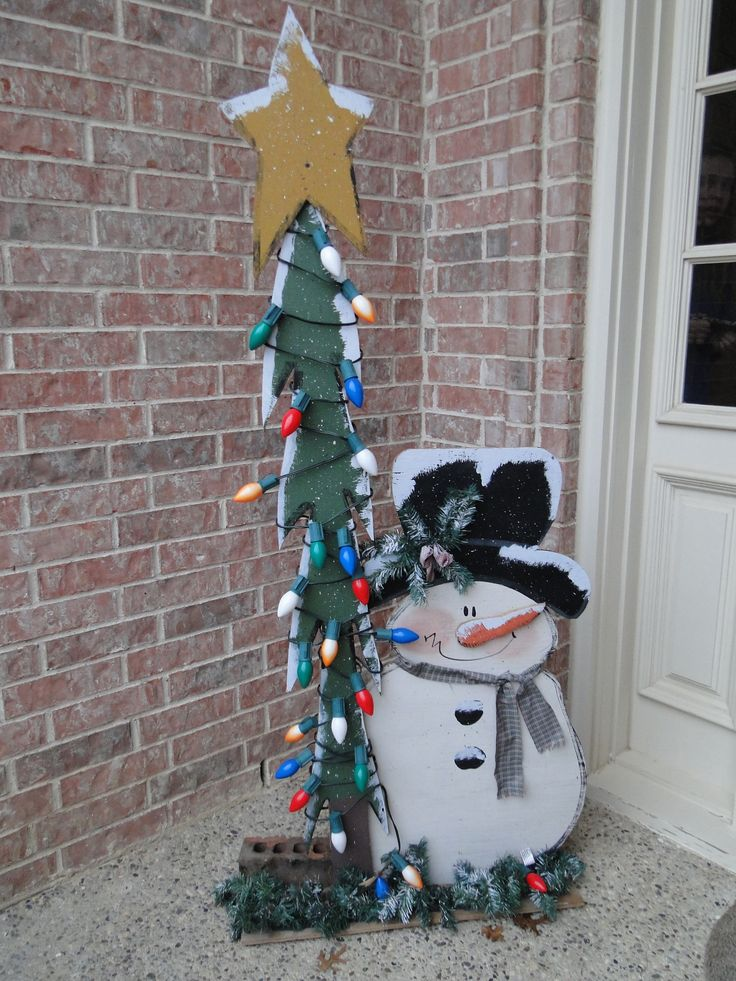 1613 best christmas images on Pinterest Christmas decor, Snowman - outdoor snowman christmas decorations