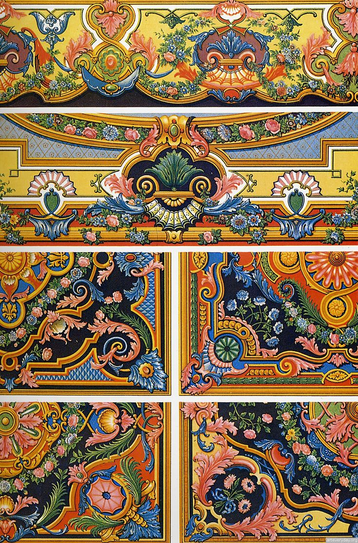 From French publishing L'Ornement polychrome» Dowload: http://www.arteveryday.org/ornament_2/#more-4869