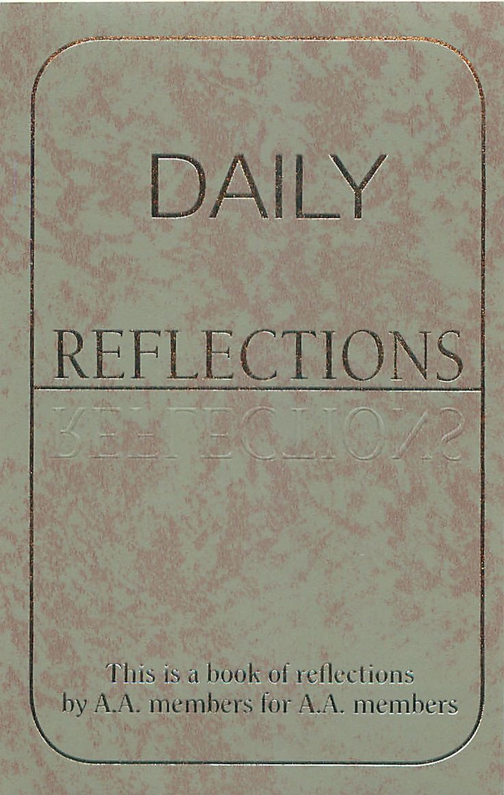 8042afea2b4dee30db43b3f2caaad5f2 daily reflections recovery