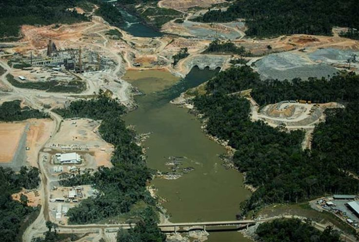 "The end of a People: Amazon dam destroys sacred Munduruku ""Heaven"""