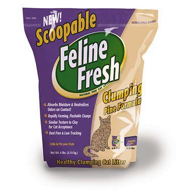 Clumping Pine Cat Litter
