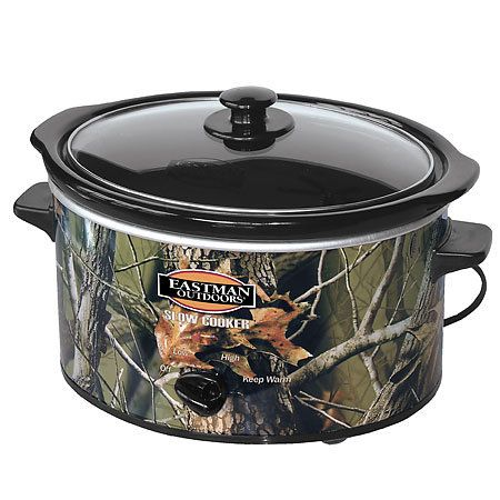 mossy oak slow cooker just found this had to repin LOL I know everyone will also lol