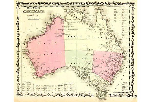 Australia, 1861 on OneKingsLane.com