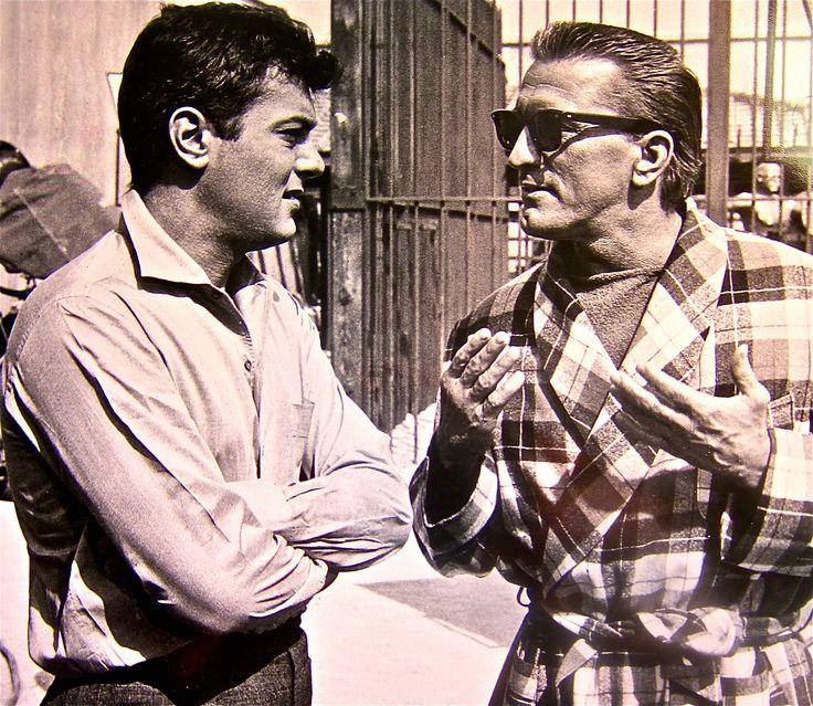 Tony Curtis & Kirk Douglas