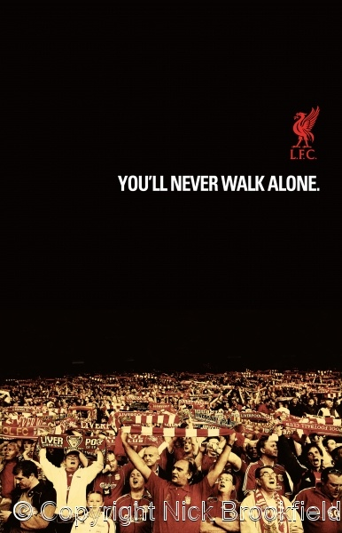 """Sing """"You'll Never Walk Alone"""" with all the other Liverpool supporters at a game at Anfield!"""