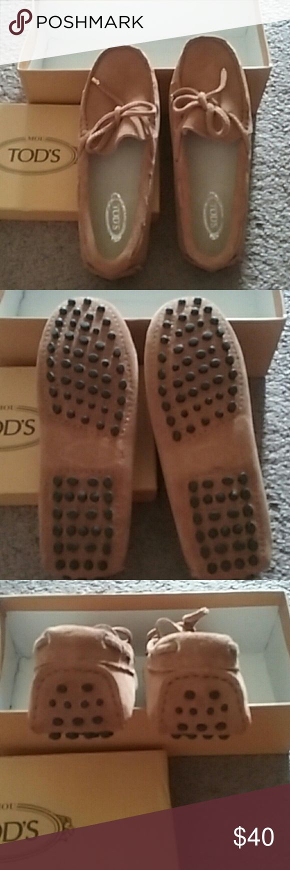 NIB Brown suede loafers Brand new size 36. Extremely comfortable Shoes Flats & Loafers