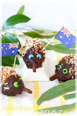 echina lamington cake balls - a celebration of all things Aussie!