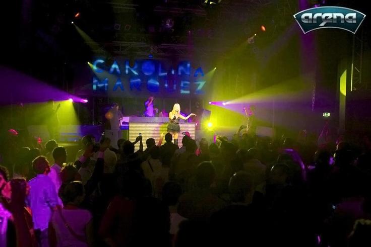 Carolina Marquez DANCE PASSION TOUR 2012 - 2013 @ Arena Live Disco - Mendrisio - Swiss (CH)    Courtesy of Arena Live Disco - (CH)  All rights reserved