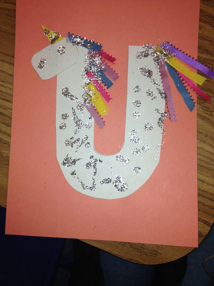 Letter U preschool craft