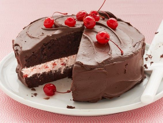 Recipe: Cherry Jubilee Cake   Duncan Hines Canada®