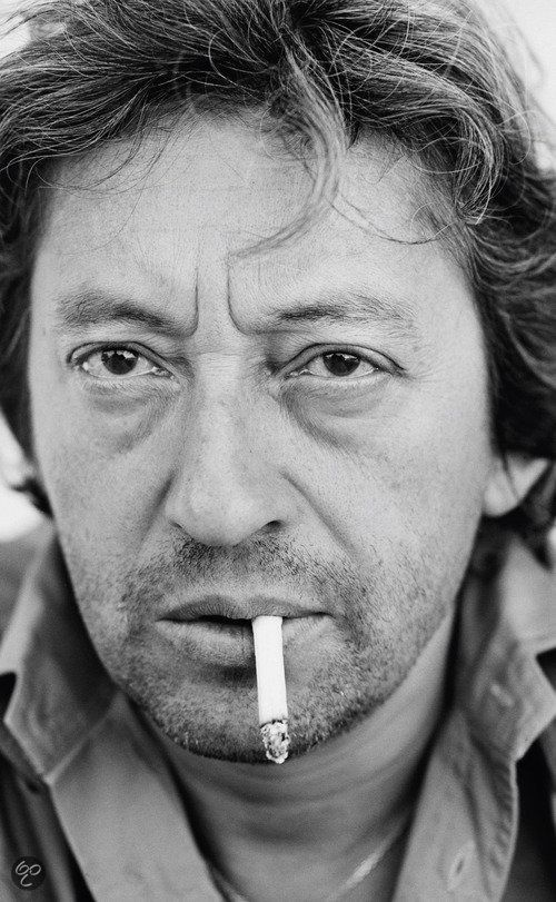 Serge Gainbourg (born Lucien Ginsburg, 1928-1991) - French singer, songwriter, pianist, film composer, poet, painter, screenwriter, writer, actor and director. Photo by Claude Gassian. Paris, 1984.