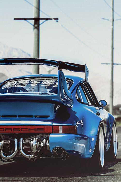 Porsche 911 feito pela Bisimoto.