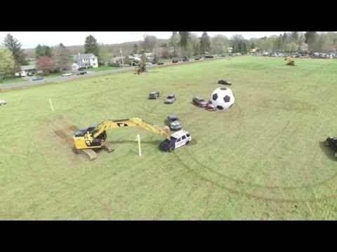 Car Soccer Game - DJI drone - YouTube