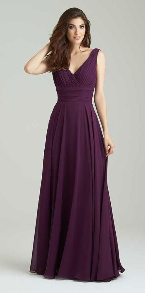 Purple Bridesmaid Dresses to Shop Now | TheKnot.com More