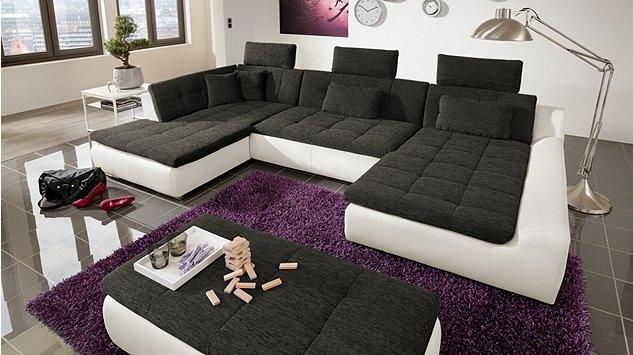 """wohnlandschaft """"essen"""" #big sofa   wohnzimmer / living room"""