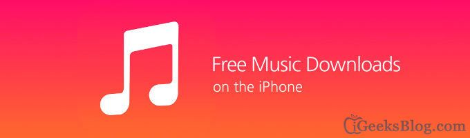 Forget streaming through radio apps like Spotify. Here's how to get free music (legally) on your iPhone or iPod touch without having to pay heftily to streaming services or to iTunes.