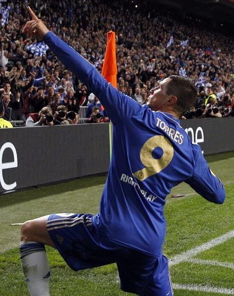 Torres #9 #chelseafc reigning World Cup, European Cup, Champions League and Europa Cup champion...