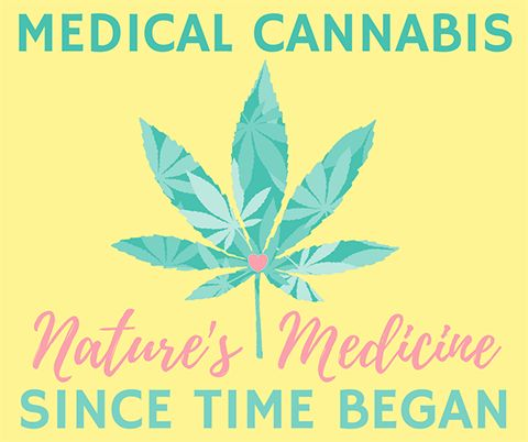 Medical Cannabis Facebook post template with patterned cannabis leaf. Created by ArtnerDluxe in Canva. Customize your own version @ https://www.canva.com/artnerdluxe. Art elements © ArtnerDluxe www.artnerdluxe.com