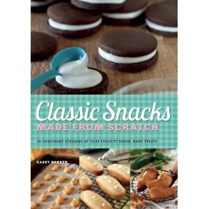 Classic Snacks Made from Scratch: 70 Homemade Versions of Your Favorite Brand-Name Treats: Casey Barber: 9781612431215: Amazon.com: Books: Food Drinks Recipes, Food Recipes, Recipes Cookbook, Classic Snacks, Casey Barbers, Scratch Cookbook, Snacks Sweet, Discuss Recipes, Barbers Classic