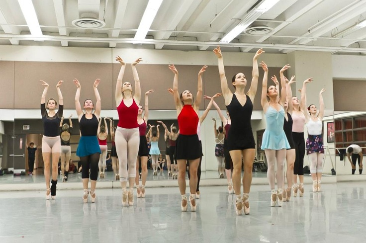 Dancers of Ballet Jorgen rehearsing Swan Lake. Photo by Johnny Vong.