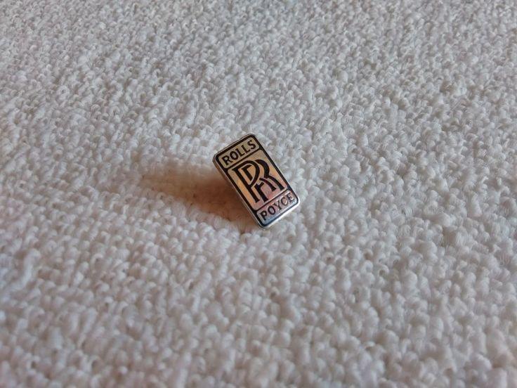 Vintage UK/United Kingdom Rolls Royce automotive pin badge