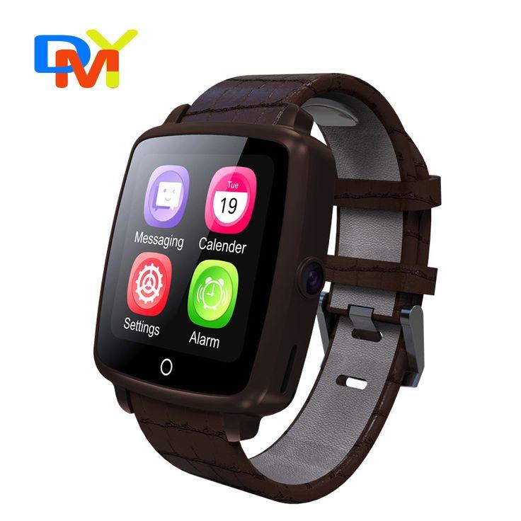 2016 mode smartwatch u11c lederband smart watch unterstützung micro sim-karte bluetooth konnektivität für apple android telefon //Price: $US $36.68 & FREE Shipping //     #meinesmartuhrende
