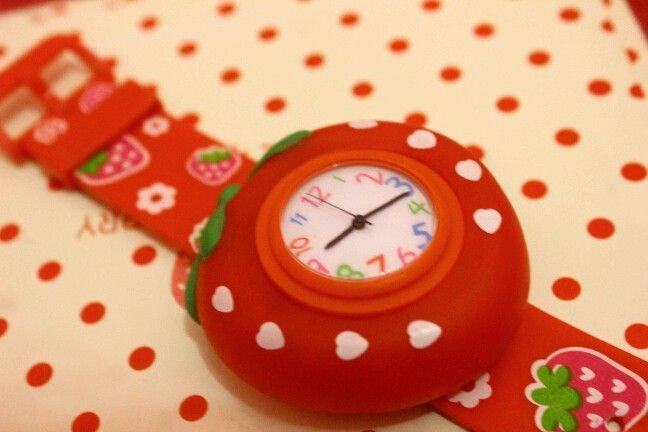 Strawberry watch