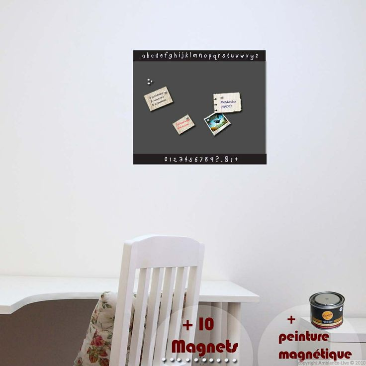 8 best Galerie Stickers + Peinture Magnétique / Decals + Magnetic - peinture bio pas cher